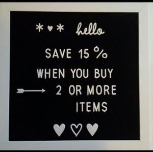 Other - Save 15% When You Buy 2 Or More Items